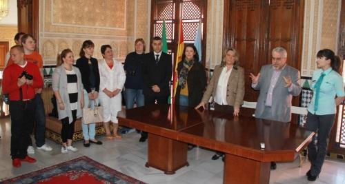 Trinidad Herrera recibe a un grupo de agentes de viajes rusos II