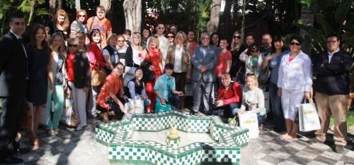 Trinidad Herrera recibe a un grupo de agentes de viajes rusos