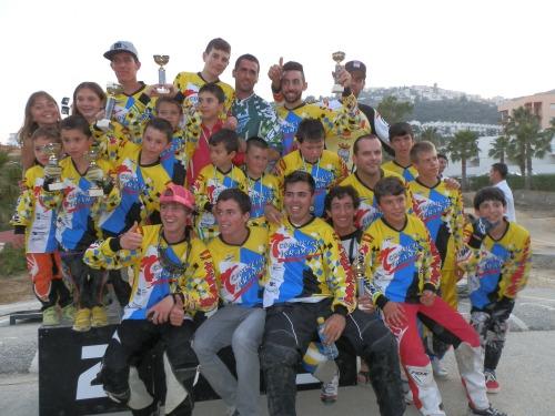 Almuñécar acogió la prueba final del Campeonato Provincial de BMX