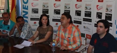 Antonio Canales y Pepe Luis Carmona encantados de actuar en Almuñécar