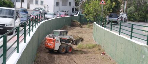 Campaña de limpieza y acondicionamiento de cauces y vías en La Herradura