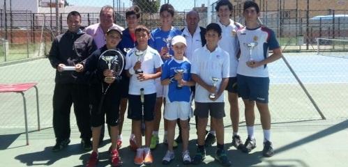 Los tenistas sexitanos Domènech y Joseph ganan el Circuito de Motril en alevín y benjamín, respectivamente