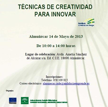El CADE de Almuñécar celebrará un taller sobre técnicas de creatividad para innovar 2