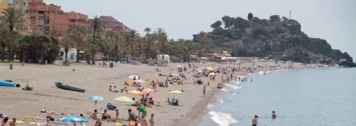 Gran ambiente en las calles, plazas y playas sexitanas