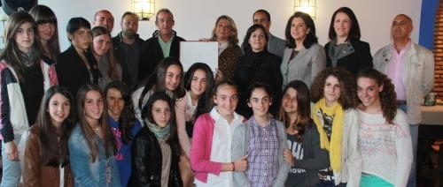 Homenaje al equipo infantil del BM Almuñécar