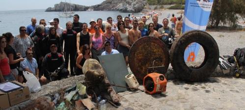 III Campaña de limpieza de fondos marinos AUAS con Almuñécar