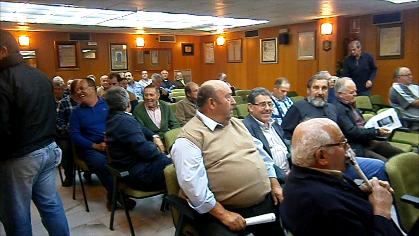 Reunión de agricultores de las cuencas de río Seco, Verde y Jate