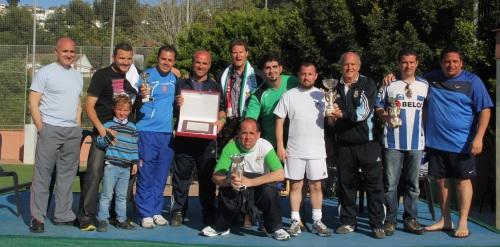La Peña del Real Madrid gano el I Torneo de Hermanamiento Solidario