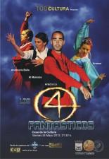 """I Muestra de baile bajo el lema los """"4 Fantásticos"""""""