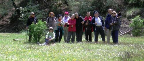 Los senderistas del PMD Almuñécar recorrieron la Sierra de Baza durante dos días