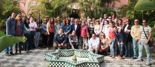 Medio centenar de agentes de viajes del Grupo Globalia visitan Almuñécar