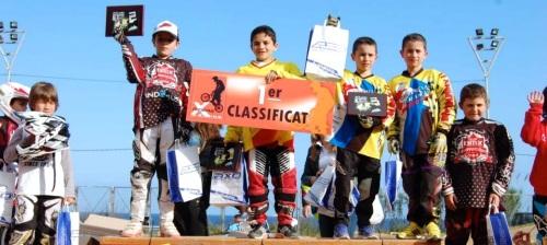 Notable participación del BMX sexitano en Mataró