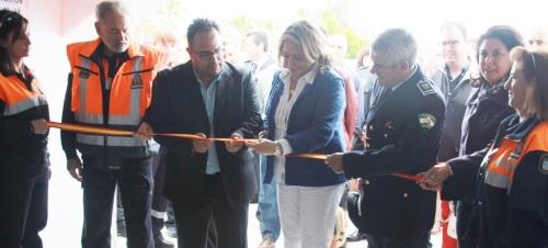 Trinidad Herrera inaugura las nuevas instalaciones de protección civil y bomberos