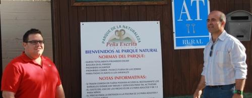 Turismo de la JA visitará el complejo turístico rural de Peña Escrita
