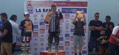 Yeray Díaz Camacho lidera el Campeonato de Andalucía de Motocross