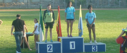 Aldana Zahzú Lucero se proclama campeona de Andalucía juvenil en salto