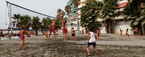 Almuñécar participa con cuatro equipos en el Campeonato de Andalucía de Voley Playa