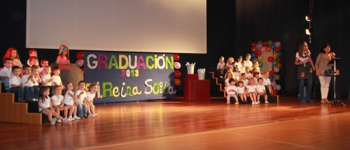 Alumnos del Centro Infantil Municipal Reina Sofía se han graduado este jueves