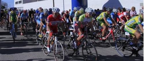 """Ciclistas sexitanos en la X Marcha Cicloturista """"Juan Martínez Oliver"""" de Almería"""