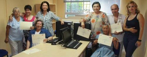 Clausurado un nuevo curso de informática en el Centro de la Mujer