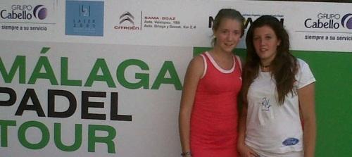 Cristina Torrecillas y Flor Arnais subcampeonas en el Málaga Pádel Tour