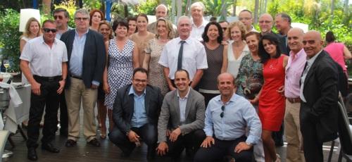 Delegaciones de Cerveteri y Fürstenfeldbruck en Almuñécar
