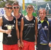 El CV Almuñécar cadete bronce en el Campeonato de Andalucía