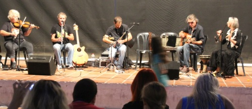 """Interesante actuación del grupo de música celta """"Bibracte"""""""
