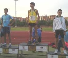 Joan Quintana es plata en el Campeonato de Andalucía de Atletismo Infantil