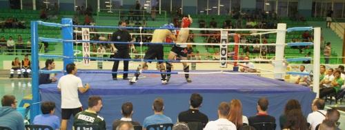 Juanjo Redondo sorprende en la gala de Kick Boxing de Almuñécar