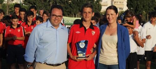 Los infantiles del Sevilla CF ganan el Torneo de Fútbol 11 de La Herradura