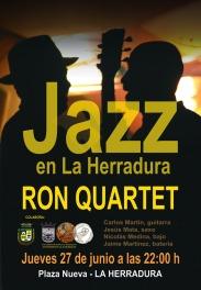 Ron Quartet actúa este jueves en La Herradura