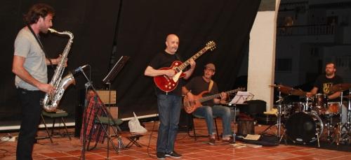 Ron Quartet  ofreció un interesante concierto de Jazz  en La Herradura