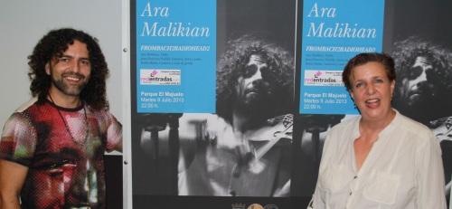 Ara Malikian hará un repaso por la Historia de la música en su concierto de Almuñécar