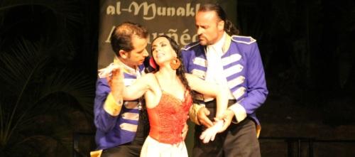 """El Ballet Español de Yolanda Gaviño triunfó en Almuñécar con la obra """"Carmen"""""""