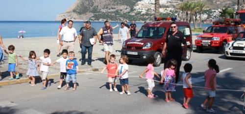 La Escuela Infantil de La Herradura realiza un simulacro de evacuación