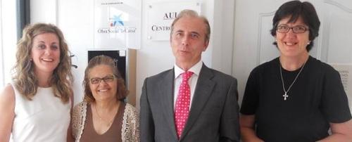 """La obra social """"La Caixa"""" firma un convenio con AFAVIDA"""