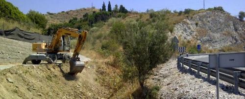 Limpieza y acondicionamiento del barranco del Quemado - La Cañada
