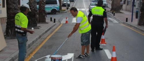 Mejora en la señalización de tráfico en las principales vías y paseos marítimo