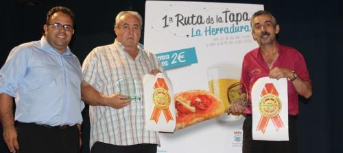Mesón Baena y Restaurante Almansa ganan los premios de la I Ruta de la Tapa