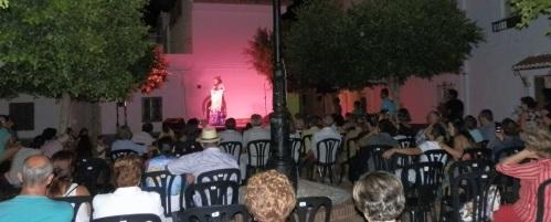 """Patricia Gavilán inaugura la II edición de """"Al fresquito en mi barrio"""""""