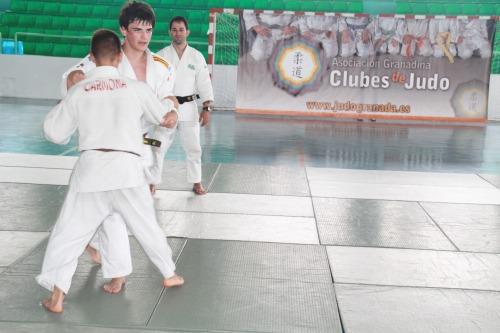 Almuñécar acogió un stage de judocas de Granada, Jaén y Huesca