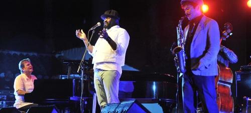 Un extraordinario concierto del Gregory Porter clausuró Jazz en la Costa