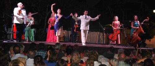 La música tradicional argentina sonó en La Herradura con la orquesta Arcos de Buenos Aires