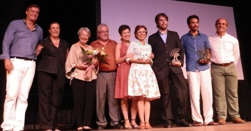 Asunción Balaguer recibió el homenaje del FICA