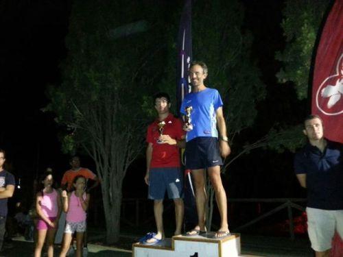 l atleta sexitano David Jiménez hace séptimo en el III Trail Minas de Catala de Berja (Almería) y segundo en su categoría