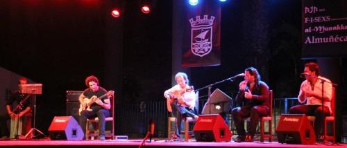 El guitarrista Emilio Maya presentó su último trabajo en Almuñécar