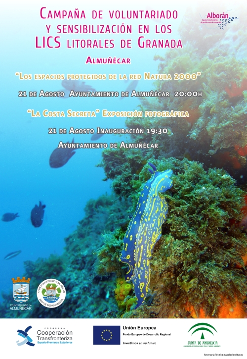 Almuñécar acoge el cierre de la campaña de divulgación sobre los Espacios Naturales Litorales de la Costa de Granada
