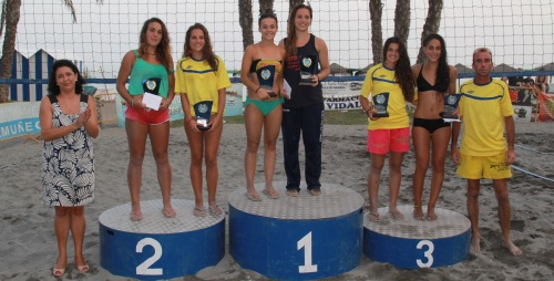 Ferrer y Rodríguez campeones del III Torneo de las 24 Horas de Vóley Playa