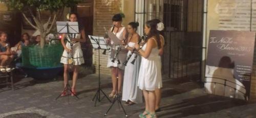 Gran éxito de la II Noche en Blanco de Almuñécar